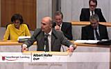 """Aktuelle Stunde """"Wohnen in Vorarlberg"""""""