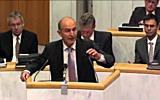 Aktuelle Stunde des Vorarlberger Landtages