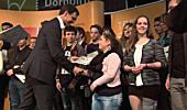 Starke Redetalente am Jugendredewettbewerb