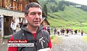 Österreichische Alpwirtschaftstagung 2019 – Alpexkursionen im Bregenzerwald