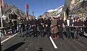 Wallner gab neutrassierte L 197 Arlbergstraße für den Verkehr frei