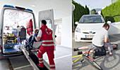 Falsche Notfälle blockieren Rettungsfahrzeuge