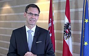 """""""Es geht aufwärts"""" - Ansprache von LH Markus Wallner"""