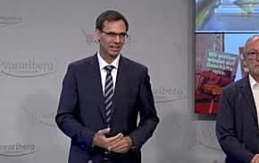LH Wallner: Vorarlberg ist bereit für die Auffrischungsimpfung