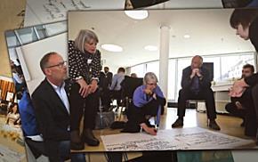 Entwurf des Raumbildes wurde einer breiten Fachöffentlichkeit präsentiert