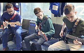 """Der """"Musikschulexpress"""" unterwegs bei """"Kultur am Zug"""","""